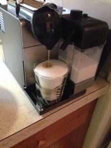 Latte Machiatto morning