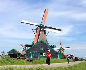 The obligatory trip to Zaanse Schans.