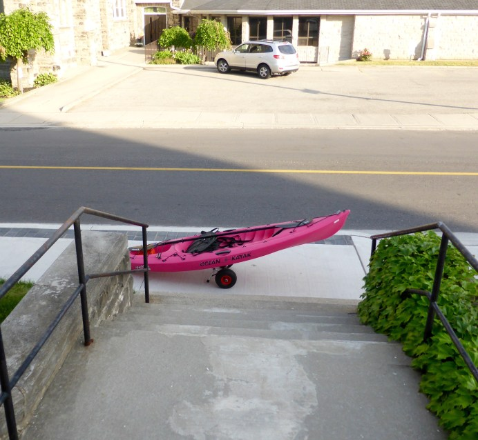 Kayak parking only...hehehe.