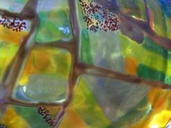 Vase Kacheltechnik