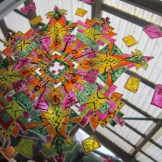 Fensterbild Mandala