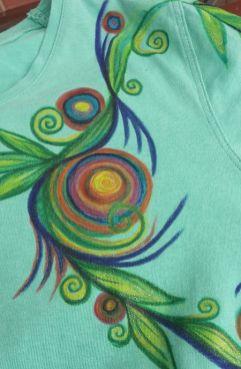 Kreis Gewächs grün 1