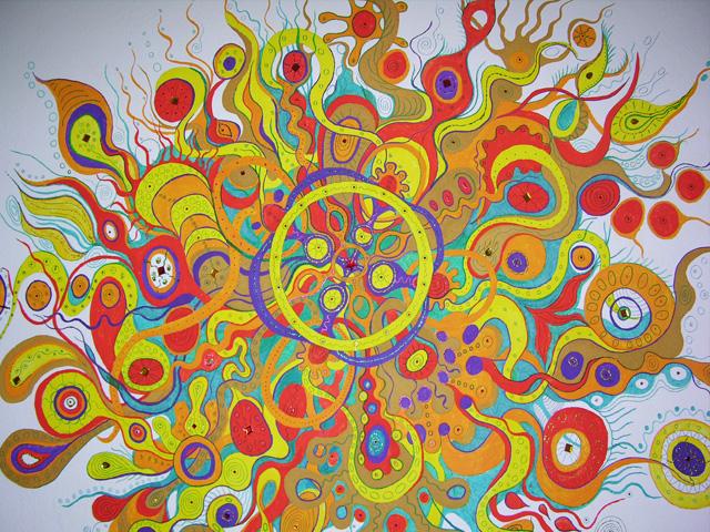 Wand Mandala Bunt Wie Schon Wie Schon