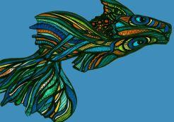 musterlebensform fisch bunt