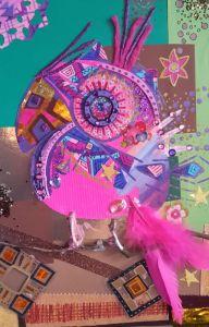 pink papagei