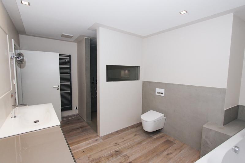 Badezimmer Beton Fliesen - Wieczorek Fliesen