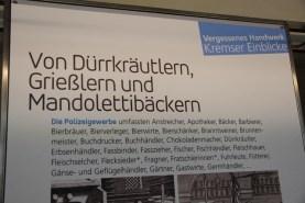 04 Berufe früher, bevor es Blogger gab - Im Krems Museum im Dominkanerstift