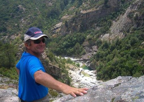Wanderung im Restonica Tal