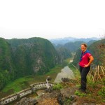 Vietnam Halong Bay – dry and not so dry.