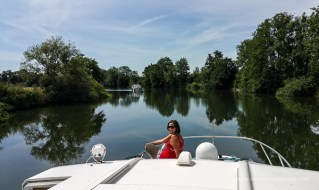 Überall am Boot gibts schöne Ausblicke