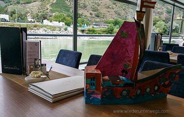 Krems mit Kindern und Familie Boot