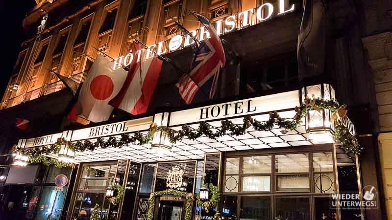 Das Hotel Bristol in Wien: Historisch & Hundefreundlich