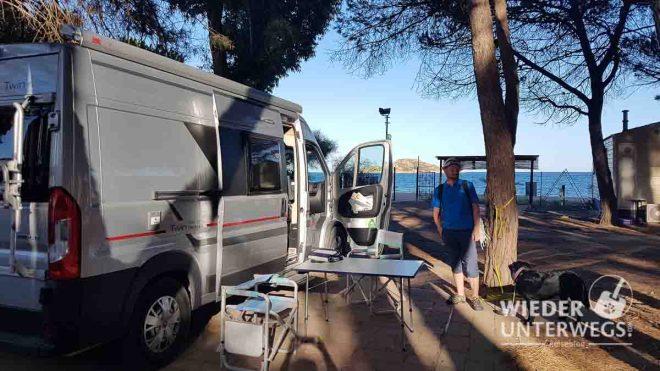 Camping Sardinien Le Cernie