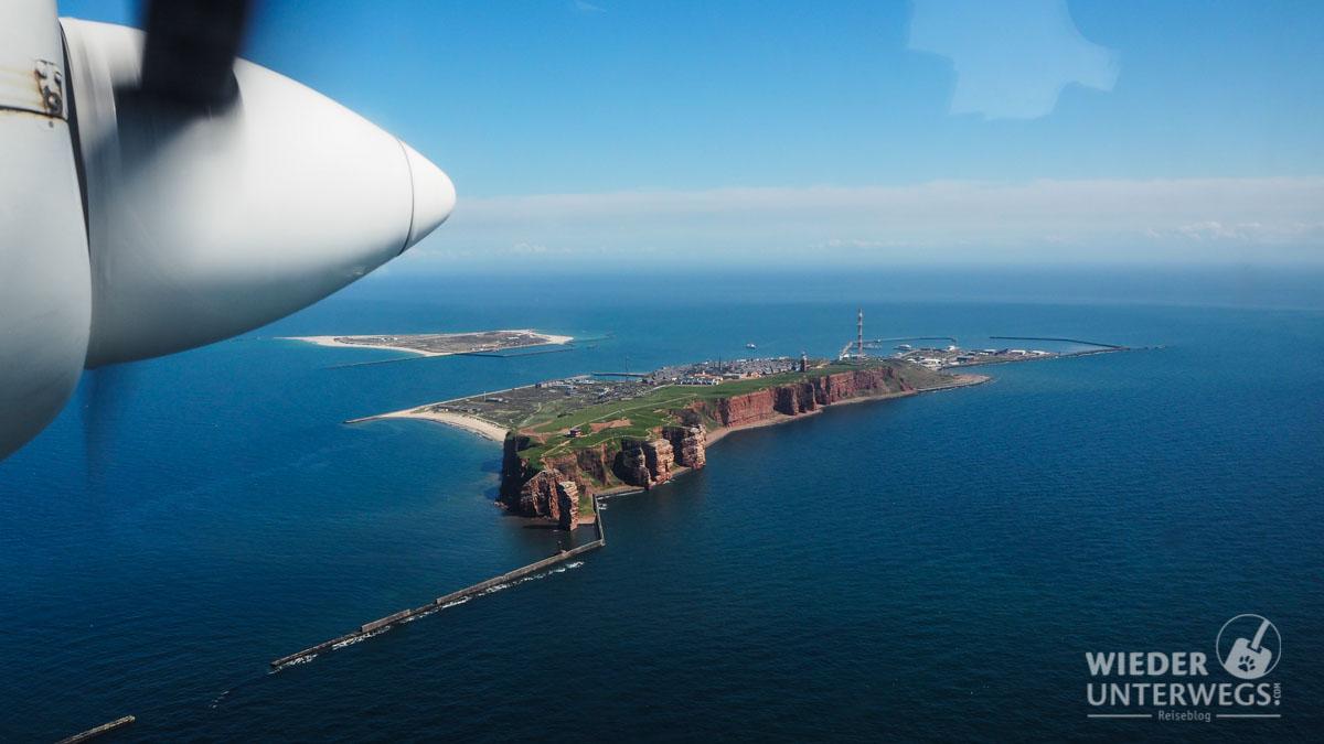 Ausgerechnet Helgoland! Der Felsen mitten in der Nordsee.