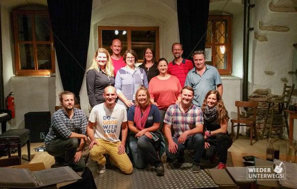 Comedian Vocalists MEET Reisebloggerinnen