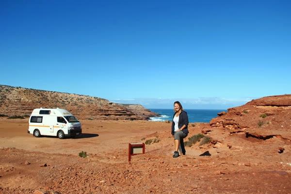 Alleinreisen mit Campinbus in Australien