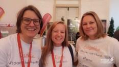 Mit Gudrun Krinzinger und Elena Paschinger