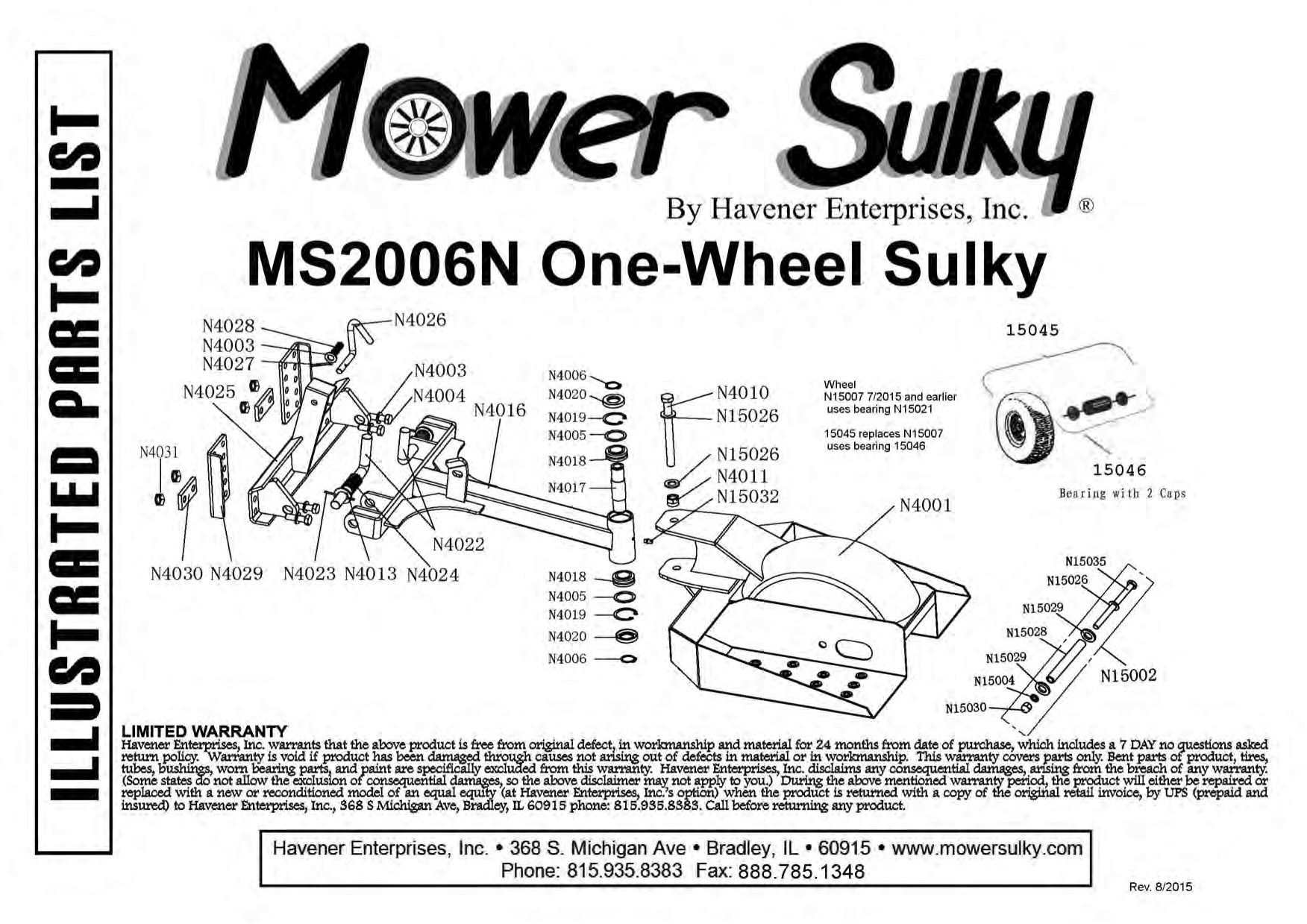 One Wheel Sulky With Lift Amp Latch Hitch
