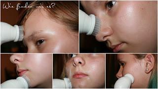 Gesichtsreinigungsbürste USpicy Gesichtsbürste Elektrisch IPX5 Wasserdicht
