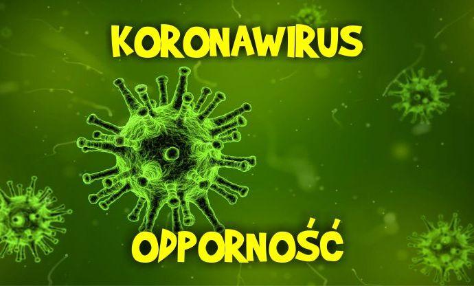 koronawirus, co na odporność