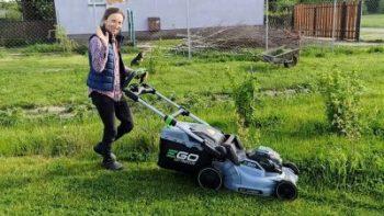 EGO Power + - kosiarki, akumulatorowe elektronarzędzia ogrodnicze, rabat