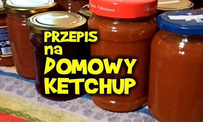 domowy ketchup, keczup, ketchup z pomidorów, ketchup pomidorowy,