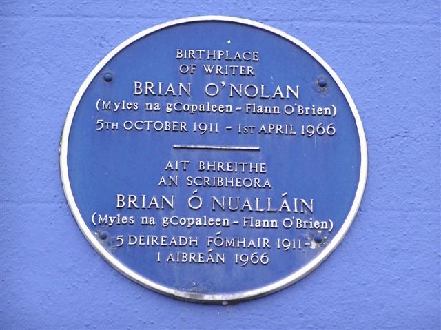 Noch einmal der irische Dichter Flann O'Brien