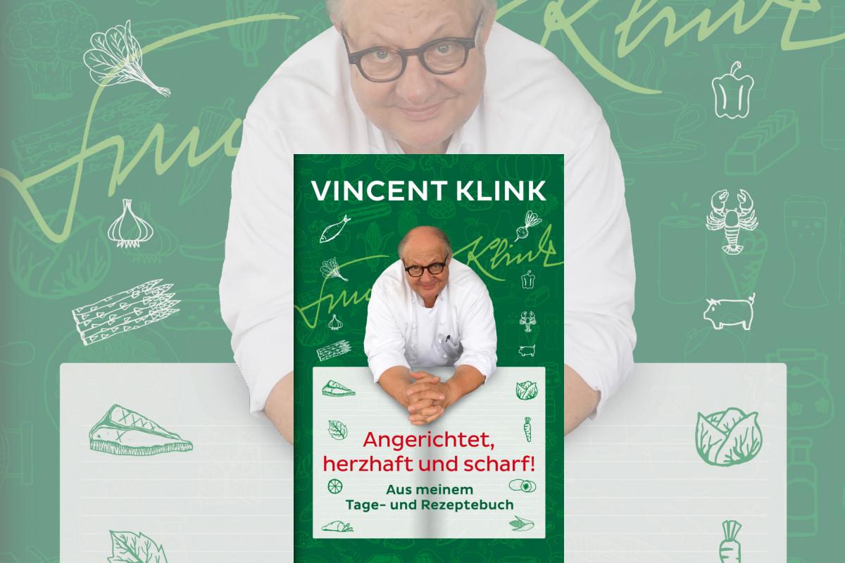 Vincent Klink: Angerichtet, herzhaft und scharf.