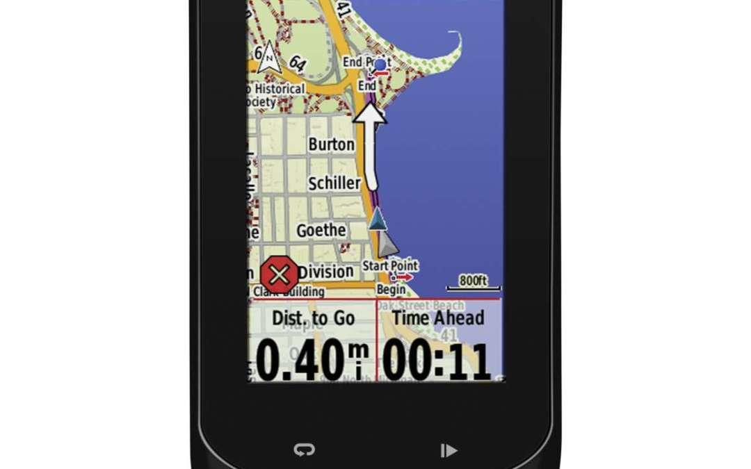 Nieuw Garmin Edge 1000 fietsnavigatie