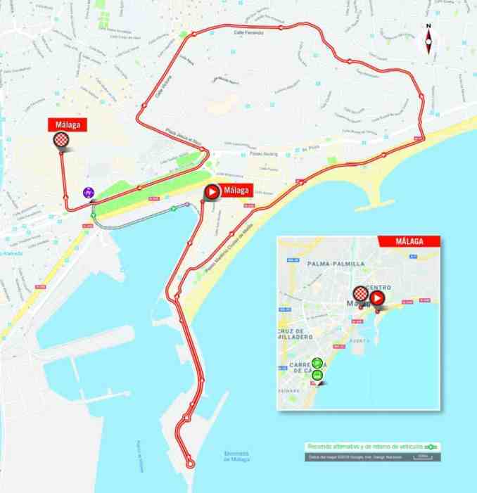 wielrenschoenen-nl Vuelta-2018-route-etappe 1
