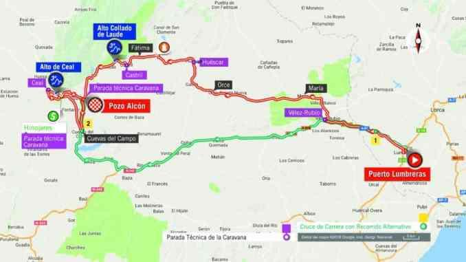 wielrenschoenen-nl Vuelta-2018-route-etappe 7