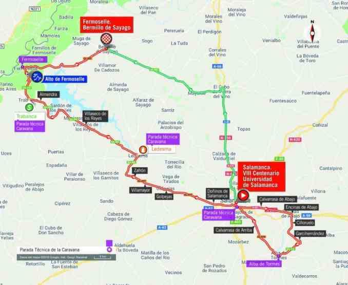 wielrenschoenen-nl Vuelta-2018-route-etappe 10