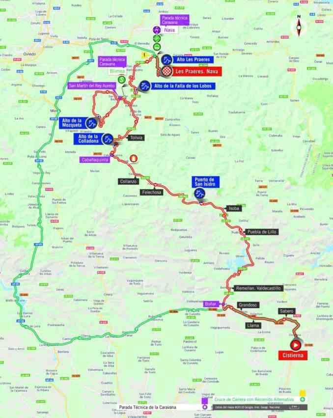wielrenschoenen-nl Vuelta-2018-route-etappe 14
