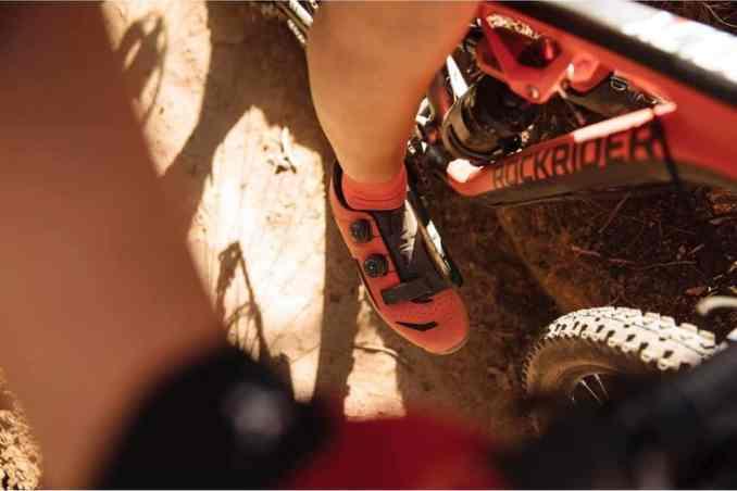 wielrenschoenen-nl MTB-schoenen voor vrouwen+XC+500+rood