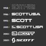 wielrenschoenen-nl Scott maattabel logo evolutie