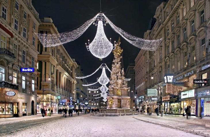 Weense kerstmarkt dateert 2018