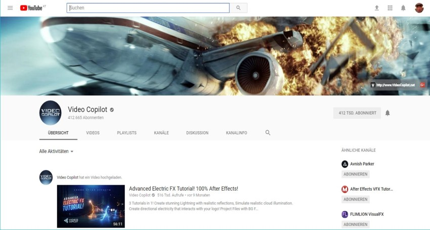 Youtube-Channel Video Copilot