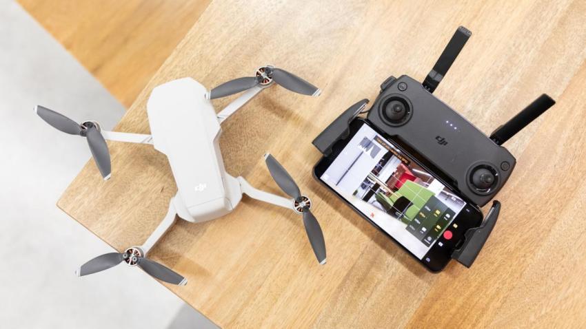 Mavic Mini muss  laut Drohnenverordnung auch registriert werden
