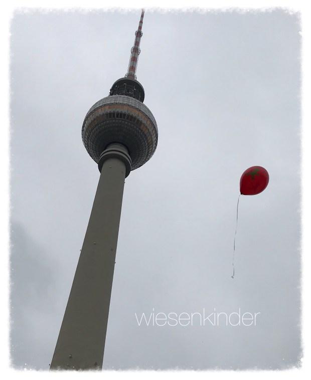 Da fliegt er, Kleeblättchens Ampelmännchen-Luftballon