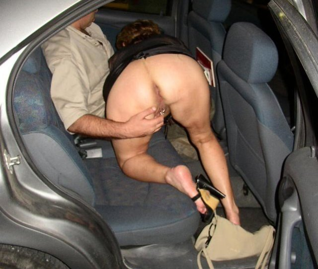 Fucked In The Car Backseat