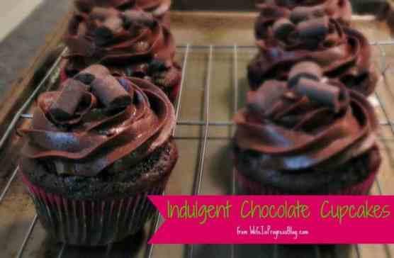 Indulgent Chocolate Cupcakes