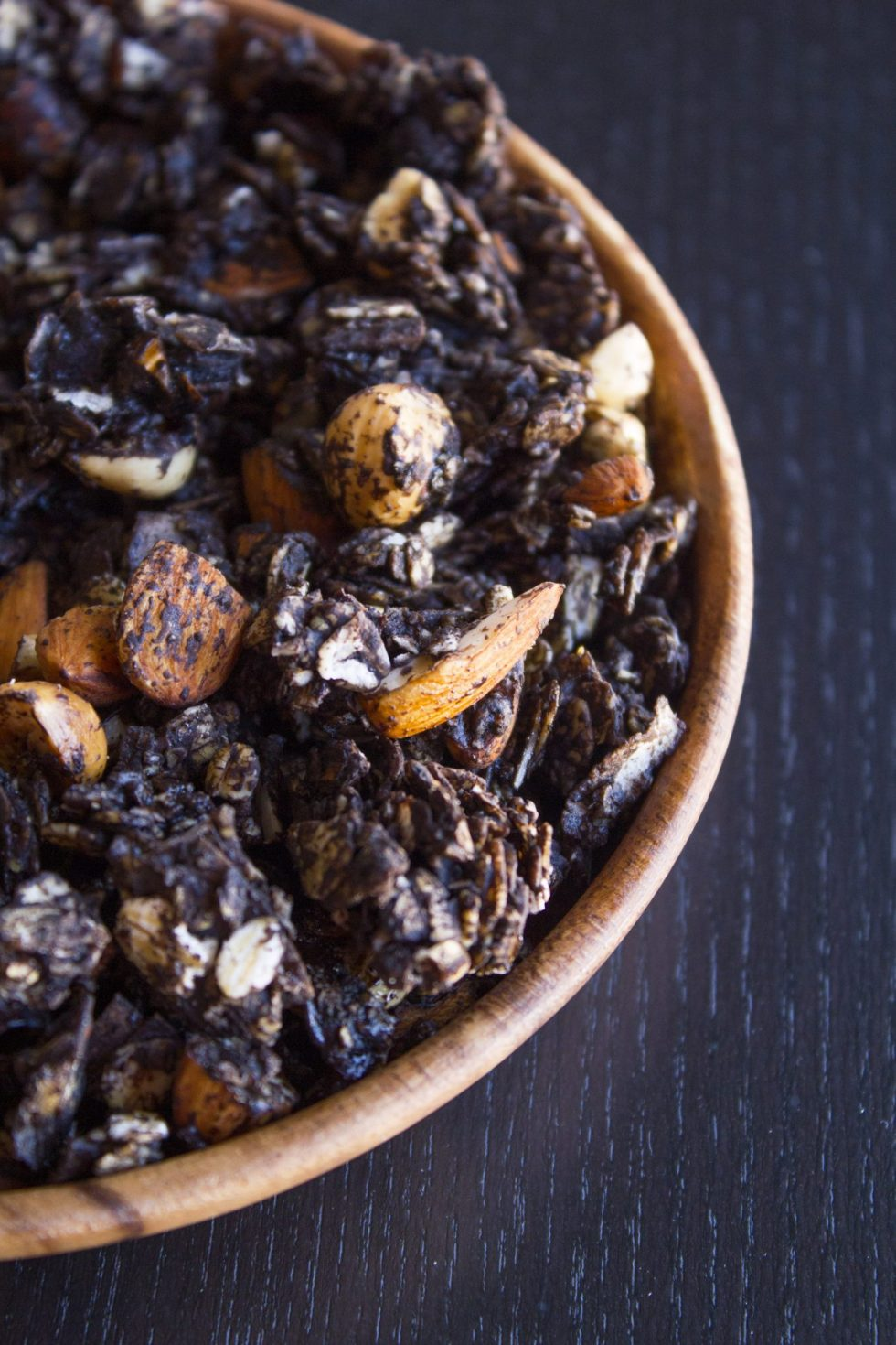 Chocolate Nut Crunch Granola | Wife Mama Foodie