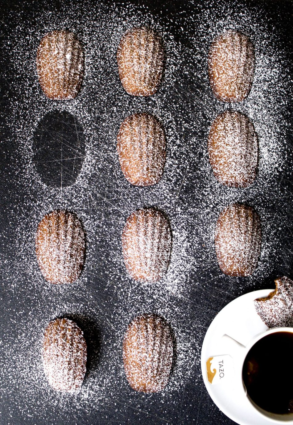 Gingerbread Madeleines | Gluten free and made with natural sweeteners.
