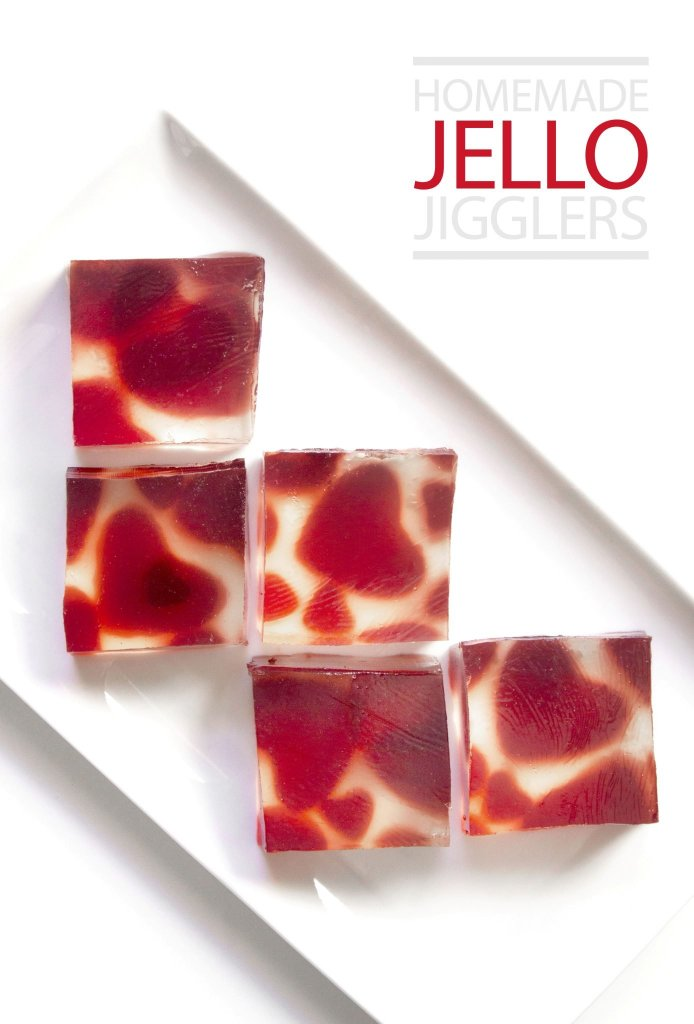 Homemade Jello Jigglers | All Natural With Only 2 Ingredients!