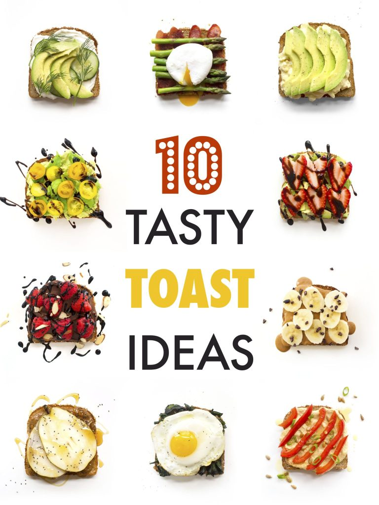 10 Tasty Toast Ideas | Gluten-Free, Dairy-Free, and Vegan Options