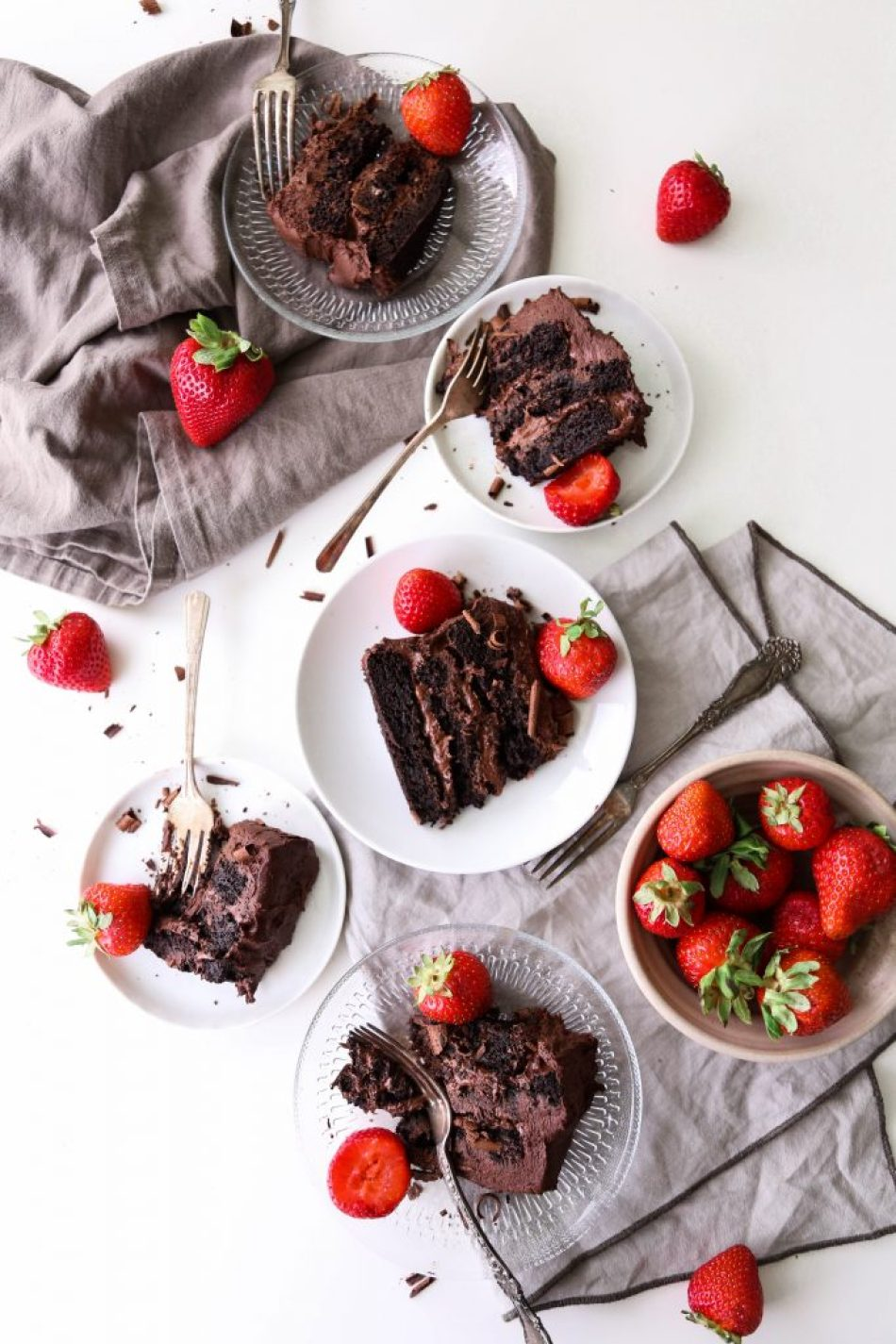Vegan Chocolate Cake With Whipped Ganache   Gluten free and made with healthier ingredients!