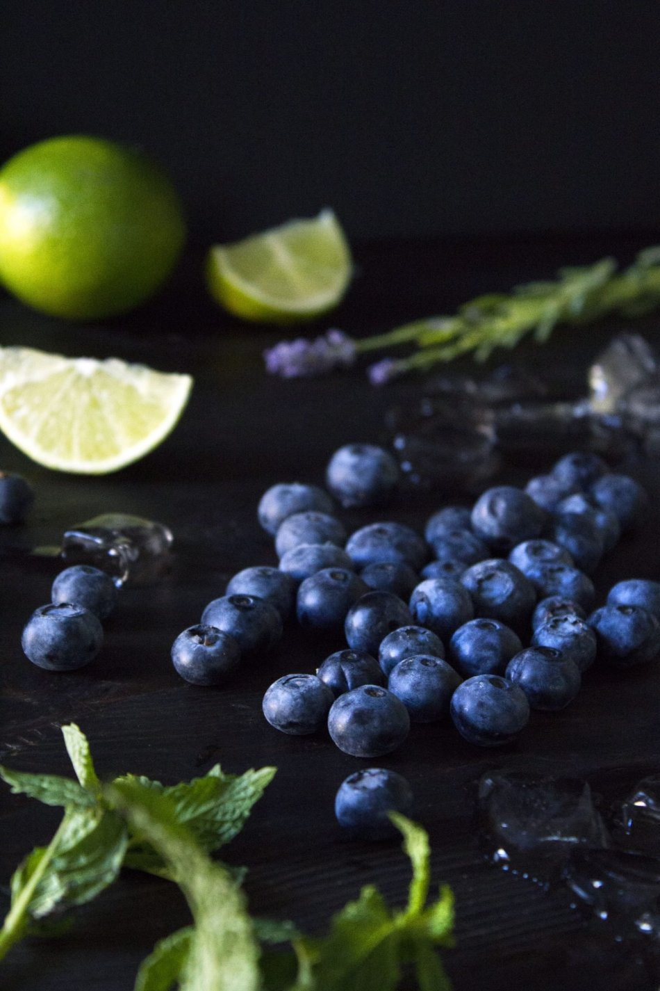 Blueberry-Lavender Fauxjito | A delicious and healthy drink everyone can enjoy!