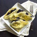 Lemon Poppyseed With Blackberries