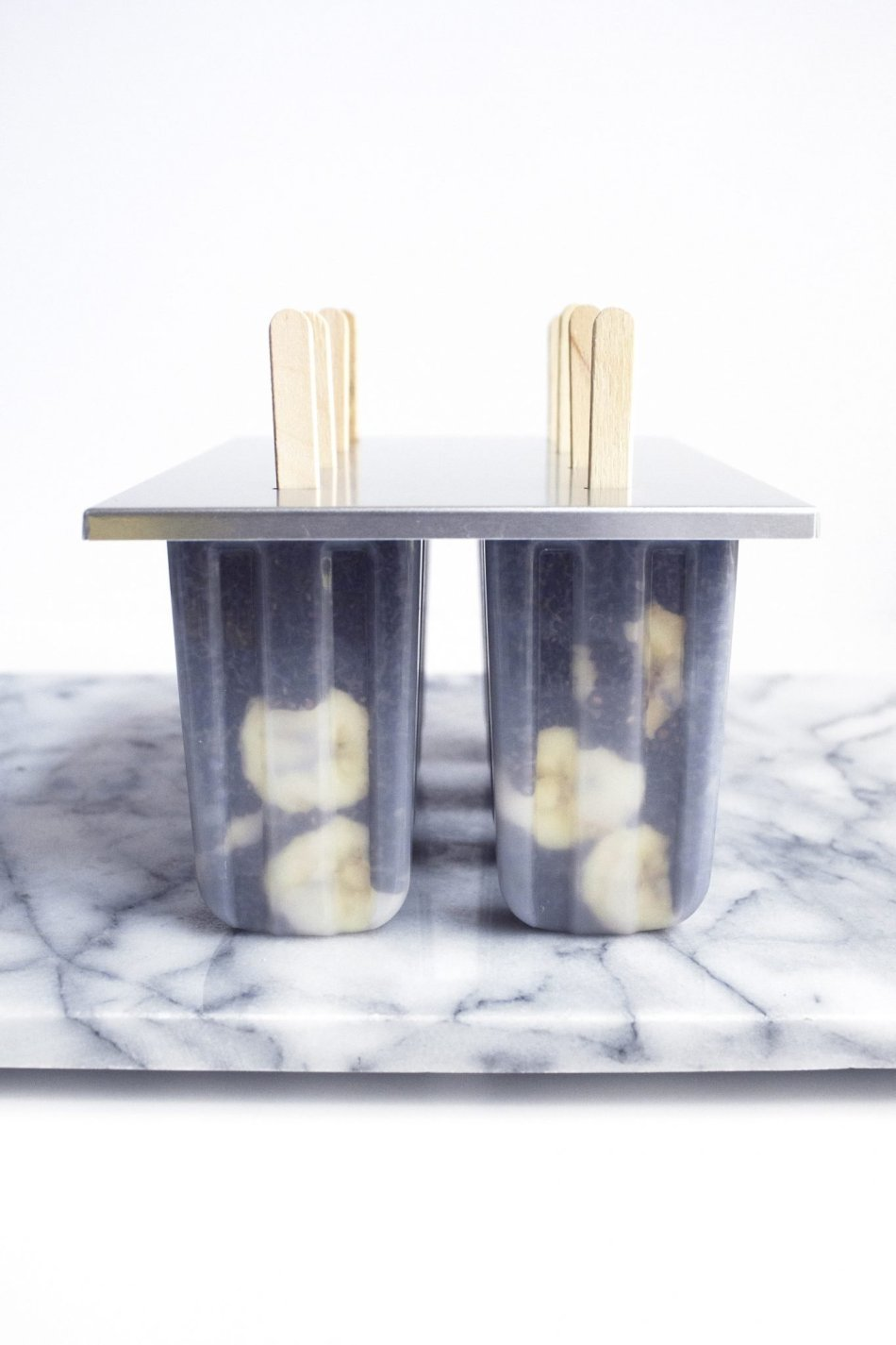Chocolate Chia Pudding Pops With Bananas | Simple and wholesome