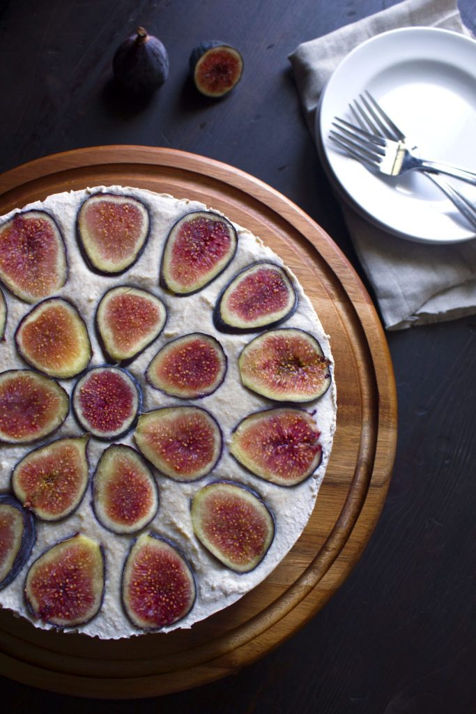Vegan Fig Cheesecake 1